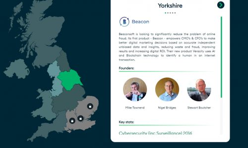 Beacon is a Tech Nation Rising Star In Yorkshire