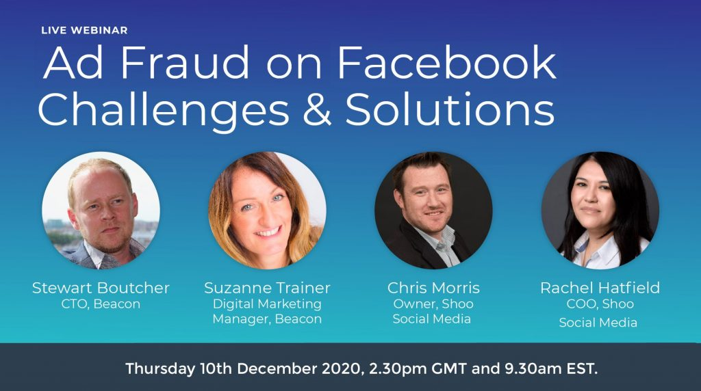 Ad Fraud on Facebook - Challenges and Solutions. Webinar