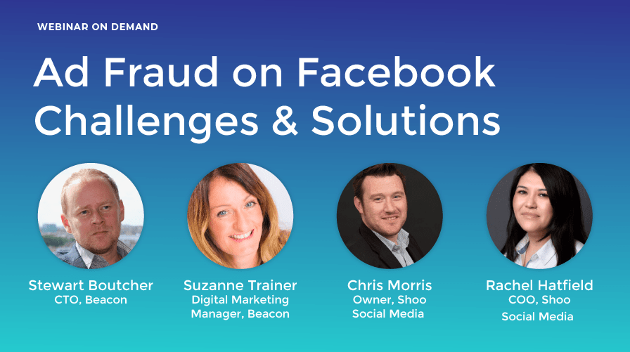 Ad fraud on Facebook - webinar on demand