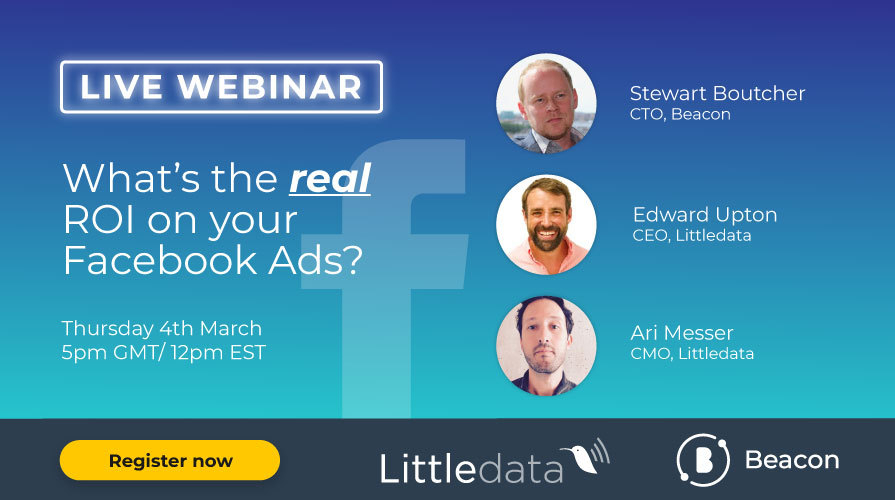 What's the real ROI on your Facebook Ads? Webinar