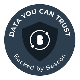 Data you can trust badge