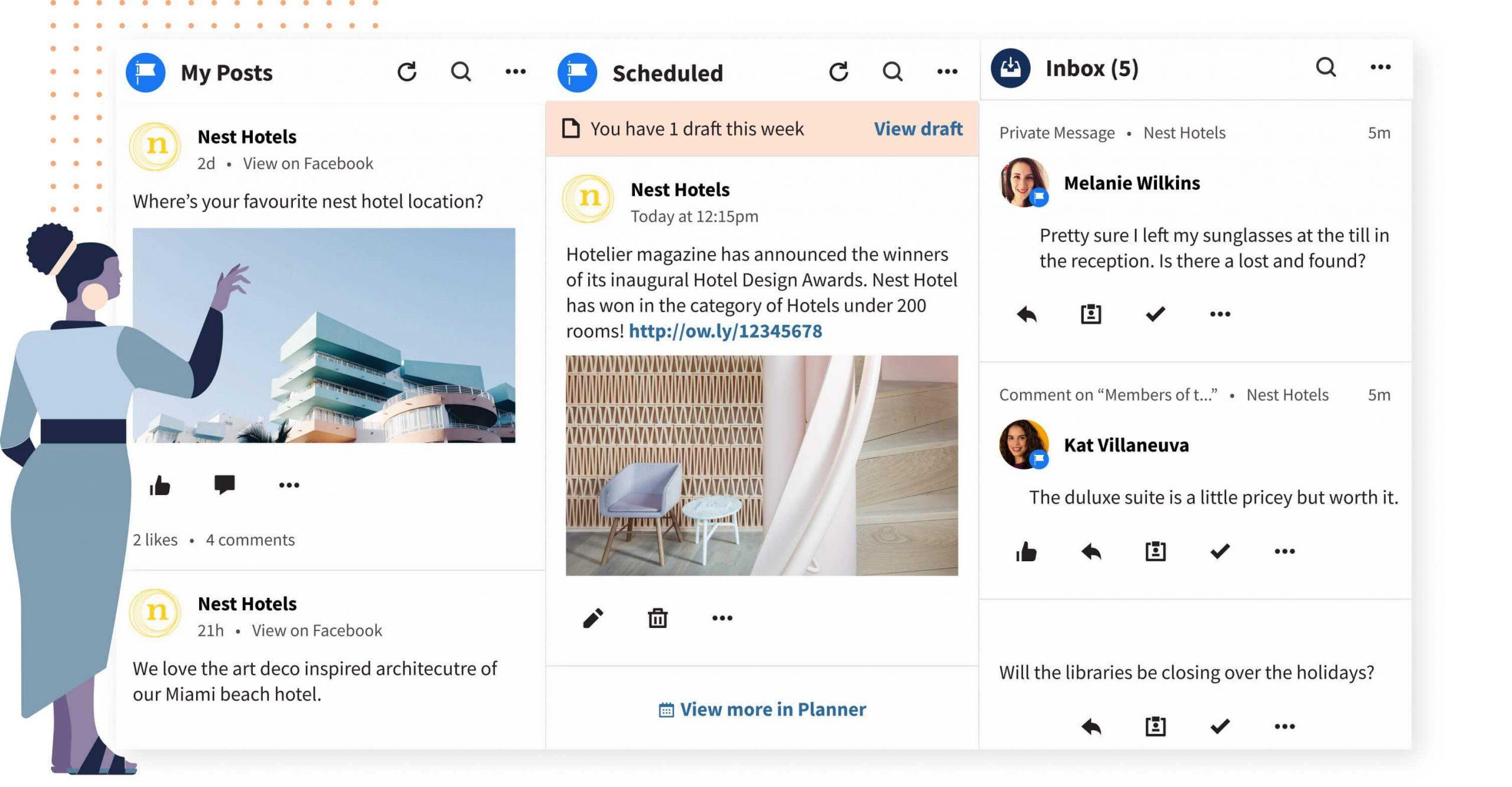 hootsuite social analytics tool