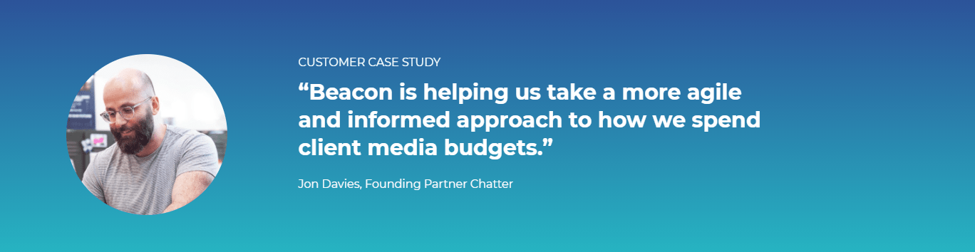 Case study on how Beacon helped Chatter Communications improve their data quality