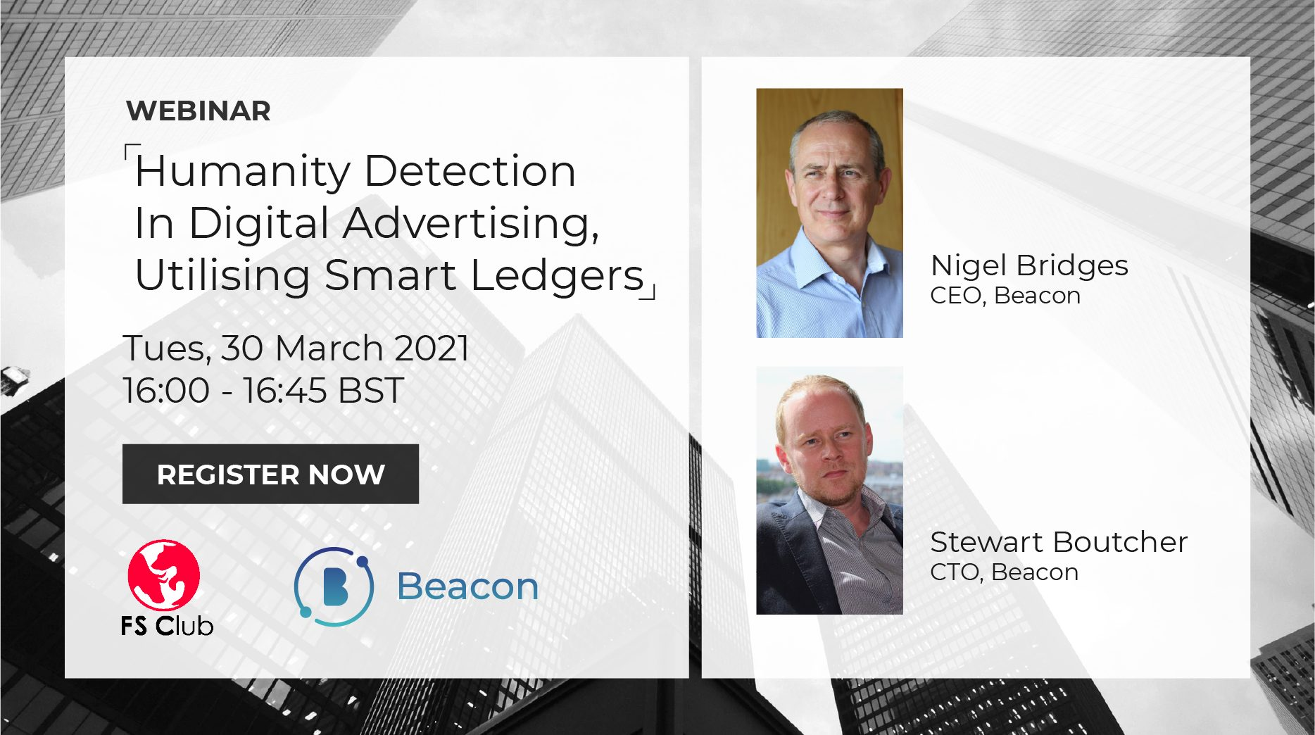Beacon co-founders to deliver talk on fighting ad fraud at free virtual event