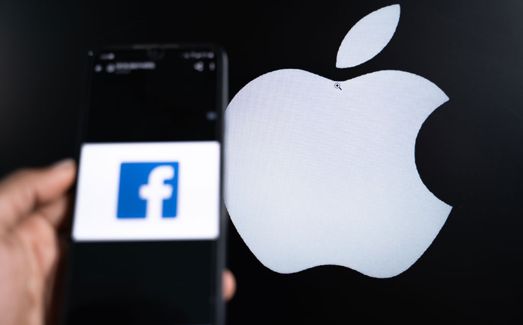 Facebook and Apple's fight over access to people's data heats up
